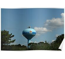 Ocean City, Maryland Series - Water Tower Poster