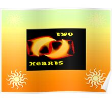Two Hearts Poster