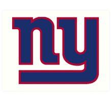 New York Giants Logo Art Print