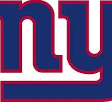 New York Giants Logo by Misco Jones