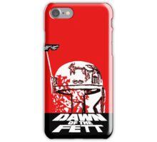 DAWN OF THE FETT iPhone Case/Skin