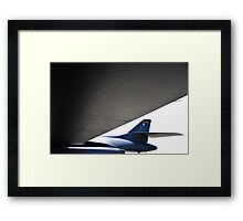 UNITED STATES AIR FORCE B-1B BOMBER Framed Print