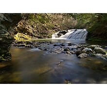 Falls Along Mill Brook - Under the Cliff Photographic Print