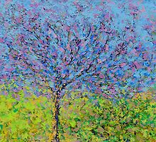 Purple Tree by -KAT-