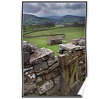 The path to Hawes Poster