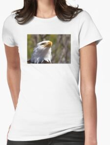 Looking Upward Womens Fitted T-Shirt