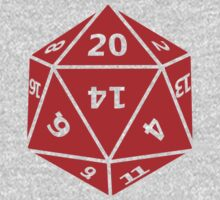 20 Sided Dice D20 One Piece - Short Sleeve
