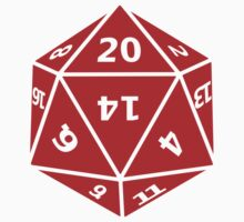 20 Sided Dice D20 Kids Clothes
