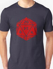 20 Sided Dice D20 Unisex T-Shirt