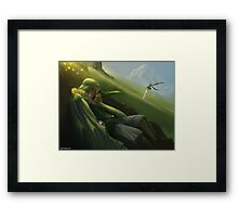 Link Ultimate Art ! Framed Print
