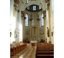 The Church of Maria Thron, interior Photographic Print