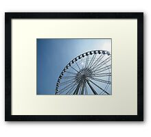 Nottingham Eye... Err... Wheel of Nottingham. Framed Print