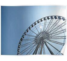 Nottingham Eye... Err... Wheel of Nottingham. Poster