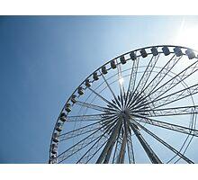 Nottingham Eye... Err... Wheel of Nottingham. Photographic Print