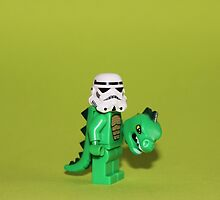 Crocodile Stormtrooper by Kirk Arts