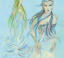 Lady of the sea by morgansartworld