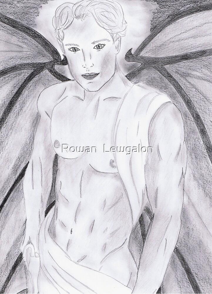 The Demon Ashmodai Ashriel by Rowan  Lewgalon