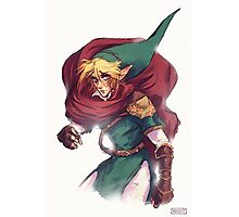 First Hero Link Portrait Photographic Print