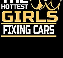 THE HOTTEST GIRLS FIXING CARS by BADASSTEES