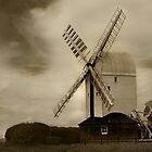 Post Mill by Di Dowsett