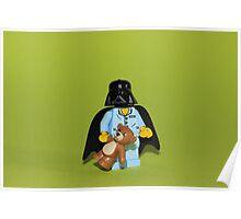 Sleepy Darth Vader Poster