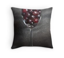 Glass of Red? Throw Pillow