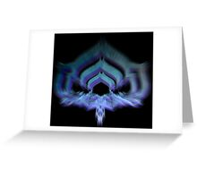 Warframe Lotus - Prisma Greeting Card