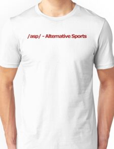 /asp/ - Alternative Sports 4chan Logo Unisex T-Shirt