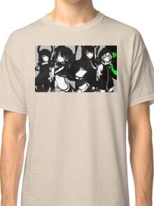 Black Rock Shooter, Chars  Classic T-Shirt