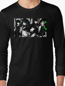 Black Rock Shooter, Chars  Long Sleeve T-Shirt