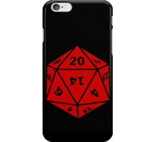 20 Sided Dice D20 iPhone Case/Skin