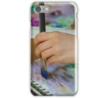 A Young Artist's Hand iPhone Case/Skin