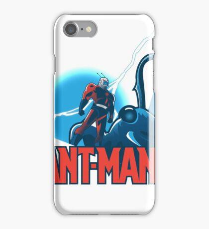 ANT-MAN / BAT-MAN MASHUP iPhone Case/Skin