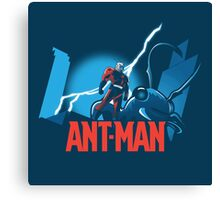 ANT-MAN / BAT-MAN MASHUP Canvas Print