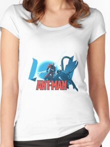 ANT-MAN / BAT-MAN MASHUP Women's Fitted Scoop T-Shirt