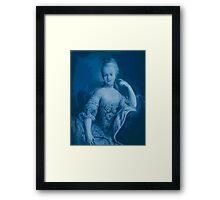 Blue Marie Framed Print