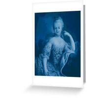 Blue Marie Greeting Card