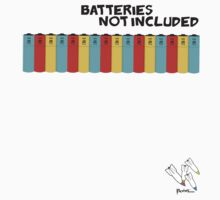 [ batteries not included ] by Jaden Rogers