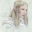 Galadriel by morgansartworld
