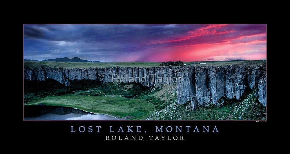 Lost Lake, Montana, ©2010 Roland Taylor by Roland Taylor