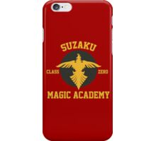 Suzaku Magic Academy iPhone Case/Skin