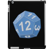 12 Sided Dice D12 iPad Case/Skin