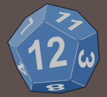 12 Sided Dice D12 by BenjiKing