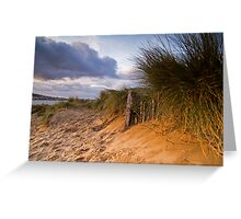 Instow Sand Dune Greeting Card