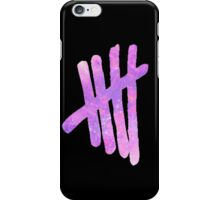 Pink Galaxy 5SOS Logo iPhone Case/Skin