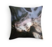 looking glass world Throw Pillow