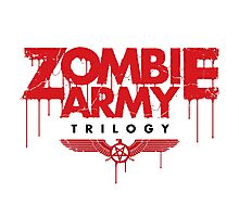 zombie army trilogy (logo) Photographic Print