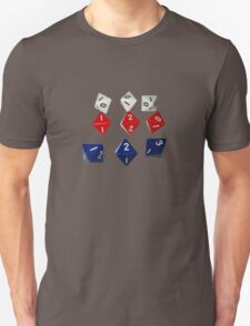 8 Sided Dice D8 Unisex T-Shirt