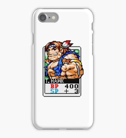 T. Hawk - Street Fighter iPhone Case/Skin