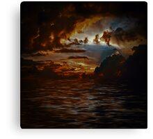 A Distant Light Canvas Print